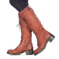 Kozačka Brigno značky Dream in Green jde s módou. Tento módní model má hnědou vrchní část z kůže. Výše zadní části svršku má 39 cm, obvod lýtka je 32 cm. Bota je uvnitř zateplená. Postaveny na 2 cm vysokém podpatku, boty mají velmi jemné vzevření. S tímto modelem je Váš look zaručen. - Barva : Hnědá - Boty Pro-zeny 2701 Kč