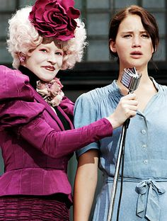 Hunger Games movie still <3    I can't believe that's elizabeth banks! :O