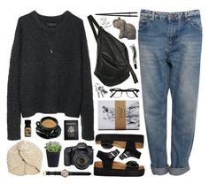sunday candy by beachy-palms on Polyvore featuring rag & bone, Pull&Bear, Truffle, Rick Owens, Shinola, Minor Obsessions, ASOS, Aesop, Eos and Passport
