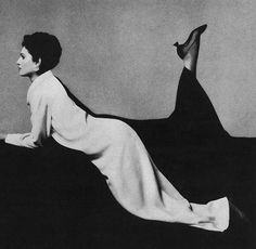 Cassandra    Model Benedetta Barzini is wearing a creation by Cassandra and Herbert Levine Shoes.  Benedetta is photographed by Richard Avedon.Vogue,August 1966.