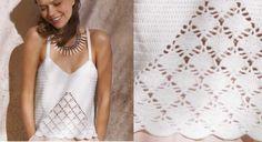 New Crochet Poncho Granny French Ideas Blouse Au Crochet, Débardeurs Au Crochet, Poncho Crochet, Crochet Bolero, Pull Crochet, Patron Crochet, Crochet Tank Tops, Crochet Squares Afghan, Crochet T Shirts