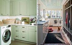Organizada creativo Lavanderia : Ideas para decorar el cuarto de la colada lavadero Pinterest ...