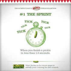 101 Ways to Eat a Bick's Pickle