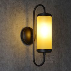 Northern American Style Industry Retro Creative Countryside Wall Light Loft Vintage Living Room Dining Room Aisle Wall Lamps