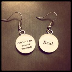Hunger Games Earrings. Love these!