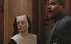 Sister Act (1992) starring Whoopi Goldberg, Maggie Smith, Kathy ...