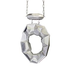 Emptiness Pendant - contemporary Jewelry - Sterling Silver by David Choi