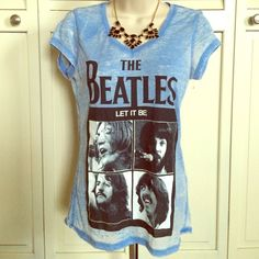 Beatles  Shirt Medium Let It Be Beatles Shirt size medium - fabric is cotton and polyster. NEW!!! Beatles Tops Tees - Short Sleeve