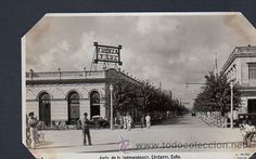 TARJETA POSTAL DE MATANZAS. CARDENAS - AVENIDA DE LA INDEPENDENCIA. Nº 3. FOTO J.MIRO (Postales - Postales Extranjero - América - Cuba)