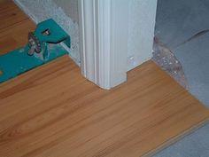 Laminate Floor Installation Kit unika professional installation kit News Under Cutting Door Jambs With A Hand Saw Before Installing Laminate Flooring