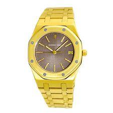 AUDEMARS PIGUET Gent's 36mm 18K Yellow Gold Royal Oak Box Warranty