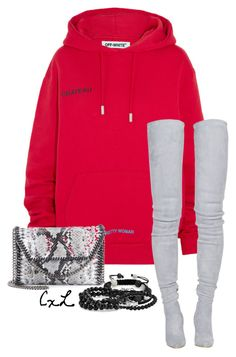 """Untitled #79"" by clynnstyle on Polyvore featuring Off-White, Balmain, Bling Jewelry, STELLA McCARTNEY and Tai"