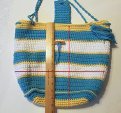 Tutorial: How to Line a Crocheted Bag