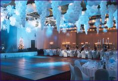 winter wonderland themed party | Winter Wonderland