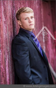 Michigan Senior Pictures. Love the mix of formal attire with the rustic barn…