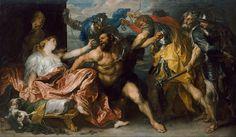 DYCK 1628 Anton van Dyck - Samson and Delilah - 1628-1630 - o/doek - Google Art Project.jpg - Wikimedia Commons