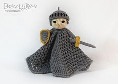 "Pattern available to buy for ""Noble Knight Lovey"" by Briana Olsen."