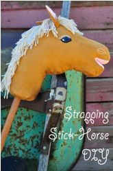 Free pattern: Strapping Stick Horse · Sewing | CraftGossip.com