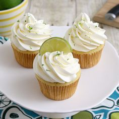 Margarita Cupcakes by Tracey's Culinary Adventures, via Flickr