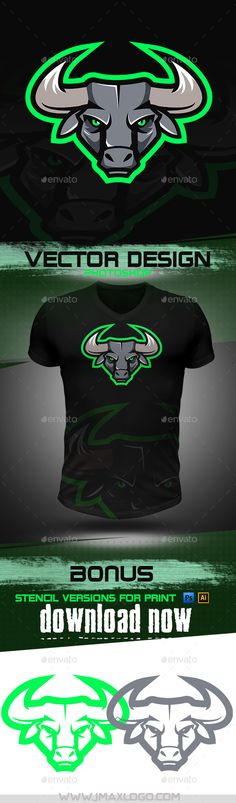 Get this here :https://graphicriver.net/item/bull-mascot/18449427publishedfor more mascots visit : www.jmaxlogo.comor hire me directly for getting you a Mascot !! Mortadi marwane
