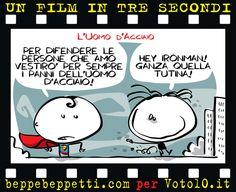 Beppe Beppetti - Un film in 3 secondi: L'uomo d'acciaio