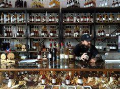 Distillery bar in Brooklyn