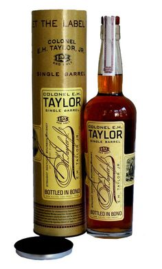 Colonel E H Taylor Jr Single Barrel Bourbon Review - Really really good stuff.