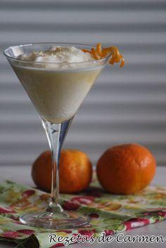 rezetas de carmen: Sorbete de mandarina y agua de azahar