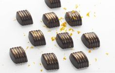 This orange chocolate recipe from Daniel Clifford is flavoured with Cointreau for a beautifully simple chocolate petit four treat