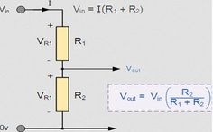 What is the Voltage Divider Rule with Examples? #Electronics http://goo.gl/esrhHx