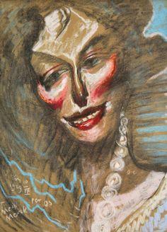 portret Zofii Szumanowej, witkacy