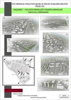 Akçaabat Yaylacık Mahallesi Sunum Paftası Urban Planning, 1st Grades, Repurpose