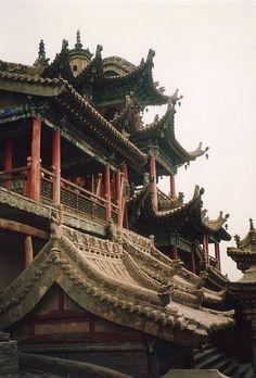 Gao Temple, Zhongwei by Oren Hadar