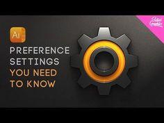 8 Illustrator Preference Settings You NEED TO KNOW - Adobe Illustrator Preferences Settings - YouTube