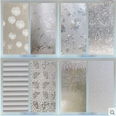 Waterproof PVC Privacy Frosted Home Bedroom Bathroom Window Sticker Glass Film #UnbrandedGeneric