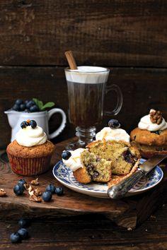 Blueberry & Walnut Muffin... | DonalSkehan.com