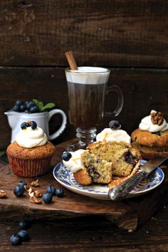 Blueberry & Walnut Muffin... | DonalSkehan.com