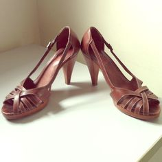 Kors Strappy Lovely Leather Heels