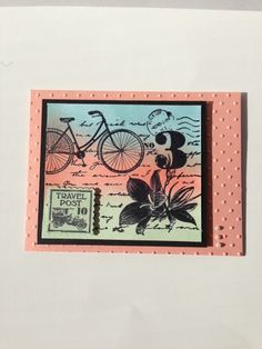 stampin Up:  Postage Due
