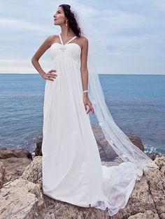 Lanting Bride® A-line Petite / Plus Sizes Wedding Dress - Classic