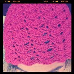I love my new self made hat :-)