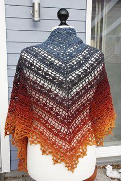Bruinen Shawl By Jasmin Räsänen - Free Crochet Pattern - (ravelry)