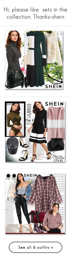 """Hi, please like  sets in the collection. Thanks-shein"" by ane-twist ❤ liked on Polyvore featuring shein and Mor"