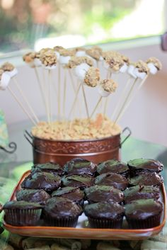 Smore pops.   Kirsten Sessions Photography: Fun summer housewarming party