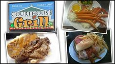 Only $5 for $10 worth of food at Courthouse Grill!