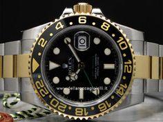 Rolex GMT Master II - Ref. 116713 LN - Cassa in acciaio e oro giallo 18kt 40mm con vetro zaffiro - Lunetta girevole in ceramica - Bracciale Oysterlock in acciaio e oro giallo 18kt con chiusura Oysterclasp - Movimento automatico