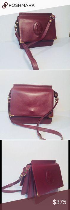 I just added this listing on Poshmark: Cartier Bordeaux Cross Body Shoulder  Bag. #shopmycloset #poshmark #fashion #shopping #style #forsale #Cartier #Handbags