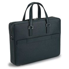 SERAPIAN DOUBLE ZIP BUSINESS BRIEFCASE Business Briefcase, Briefcase For Men, Leather Briefcase, Leather Working Patterns, Man Style, Kate Spade, Ipad, Mens Fashion, Bags