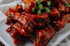 Oldalas Peking Módra Meatloaf, Tandoori Chicken, Wok, Steak, Bacon, Food And Drink, Beef, Peking, Ethnic Recipes