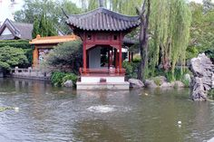 Another view of central Sydney's Chinese Garden of Friendship.